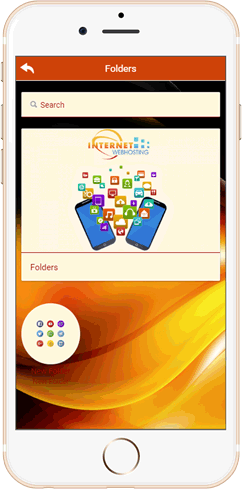 IWH Apps Folder feature