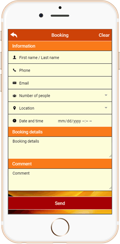 IWH Apps Booking feature