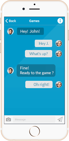 IWH Apps Chat feature